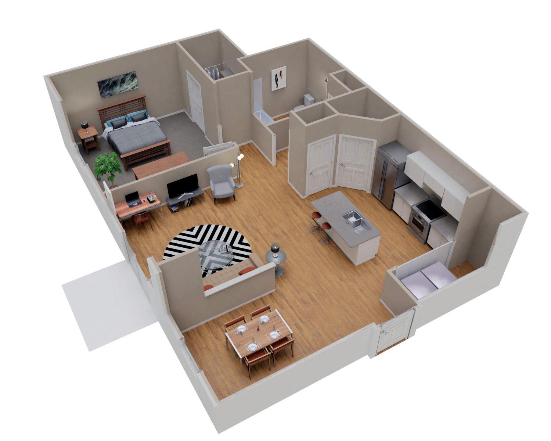 One Bedroom Sheboygan Falls Apartment For Rent