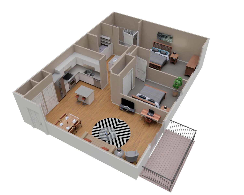Spacious Two Bedroom Apartment Rental in Sheboygan Falls