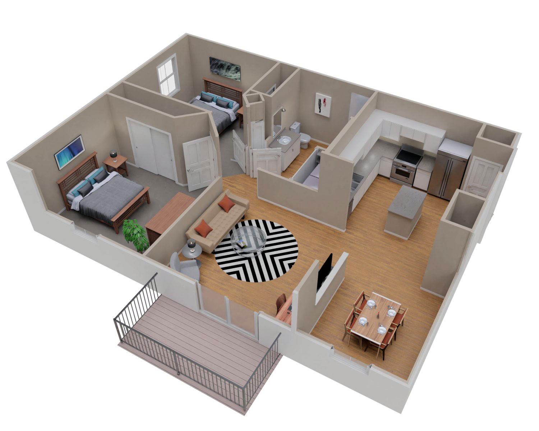 Two Bedroom Sheboygan Falls Apartment For Rent